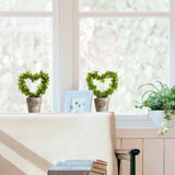 Ivy Heart Window Decal Stickers Vinduesdekoration