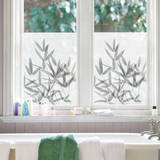Bamboo Window Shade Decal Stickers Stickers pour fenêtres