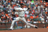 San Francisco, CA - May 11: Madison Bumgarner Lámina fotográfica
