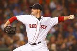 Boston, MA - June 27: Jon Lester Photographic Print