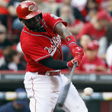 Cincinnati, OH - May 11: Brandon Phillips Photographic Print
