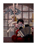 Aerial and Accordian Samletrykk av Aaron Jasinski