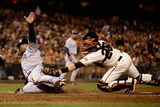 San Francisco, CA - June 18: Buster Posey and Mark Kotsay Photographic Print