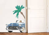 Cadillac & Palm Wall Decals Wall Decal