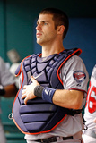 St. Petersburg, FL - July 11: Catcher Joe Mauer Photographic Print