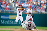 Washington, DC - June 27: Anthony Rendon and Jason Kubel Photographic Print
