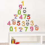 Color Numbers Wall Decals Wall Decal
