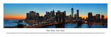 New York, New York Print by James Blakeway