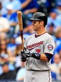 Kansas City, MO - April 08: Joe Mauer Photographic Print