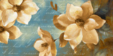 Magnolia Aglow I Posters by Lanie Loreth