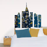 Blue City Wall Decals Wall Decal