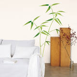 Bamboo Leaves Wall Decals Muursticker