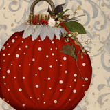 Red Ornament I Posters par Patricia Quintero-Pinto