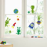 The Martians Window Decal Stickers Window Decal