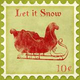 Holiday Stamp III - Art Print