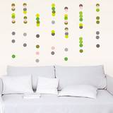 Colored Dots Wall Stickers Wall Decal