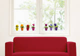 Pansy Window Decal Stickers Window Decal