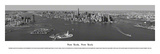 New York, New York - (Black & White) Art by James Blakeway