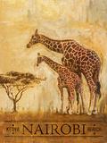 Nairobi Affiches par Patricia Quintero-Pinto