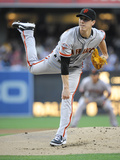 San Diego, CA - July 13: Tim Lincecum Photographic Print