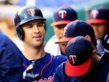Kansas City, MO - April 09: Joe Mauer Photographic Print