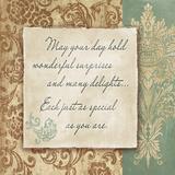 Delights Poster by Elizabeth Medley