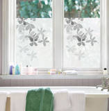 Clematic Window Shade Decal Stickers Window Decal