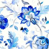 Capri Floral II Posters by Lanie Loreth