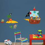 Animal Pirates Wall Decals Wall Decal