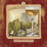 Wine & Cheese II Prints by Elizabeth Medley