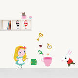 Alice in Wonderland Decorative Wall Stickers Wall Decal