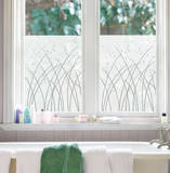 Grasses Window Shade Decal Stickers Raamsticker