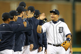 Detroit, MI - May 10: Miguel Cabrera Photographic Print
