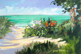 Sun Beach Dunes Prints by Jane Slivka