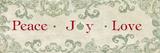 Christmas Sign I Prints by Elizabeth Medley