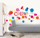 Water Color Splatter Wall Decals Wall Decal