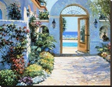 Hotel California Stretched Canvas Print by Howard Behrens