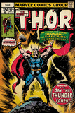 Thor - Retro Comic Photo