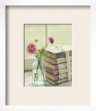 Blooming Books Print by Mandy Lynne