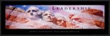 Leadership: Mount Rushmore Prints