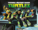 Teenage Mutant Nija Turtles Poster