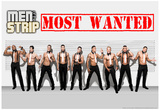Men of the Strip Most Wanted Pin-up Poster Posters