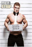 Kyle Mugshot Men of the Strip Pin-up Poster Posters