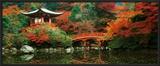 Daigo Shrine, Kyoto, Japan Posters por Umon Fukushima