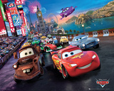 Cars, course autour du monde Posters