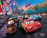 Cars Race Plakaty