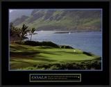 Goals: Golf Print