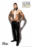 Nate Signature Men of the Strip Pin-up Poster Posters