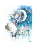 Panda Dreams Limitierte Auflage von Lora Zombie