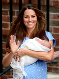Catherine, Duchess of Cambridge, and Newborn Son at St Mary's Hospital, July 23, London, England Photographic Print